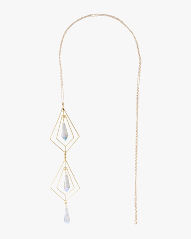 Secret Geometry Crystal Necklace