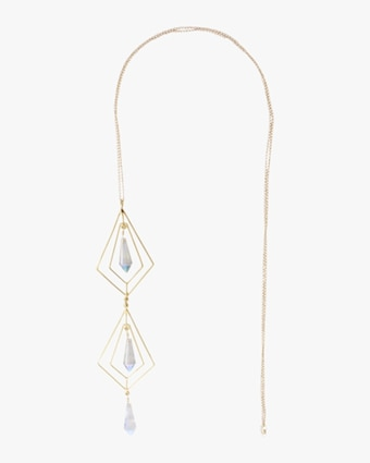 Secret Geometry Crystal Necklace