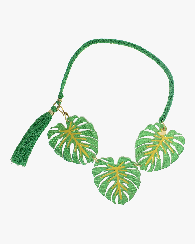 Carmen Miranda Palm Necklace