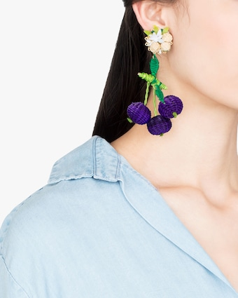 Wild Grape Earrings