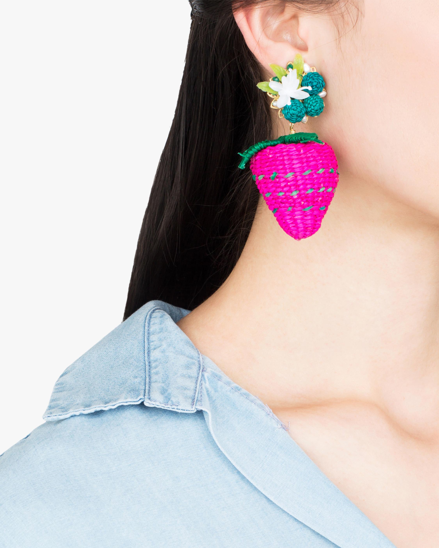 Wild Strawberry Earrings