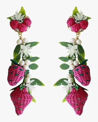 Bunch of Strawberries Earrings