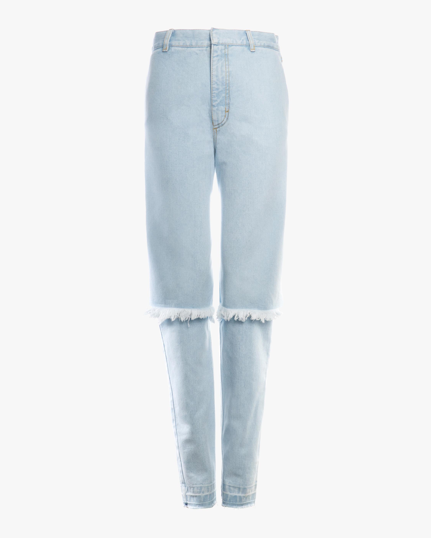 Light Blue Slim Demi-Denim Jeans