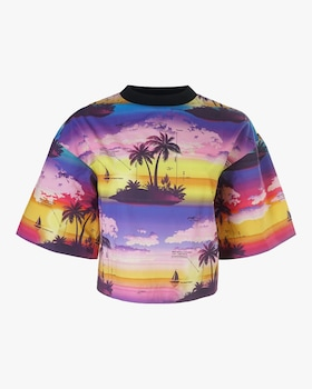 Hawaii Short Sleeve Top