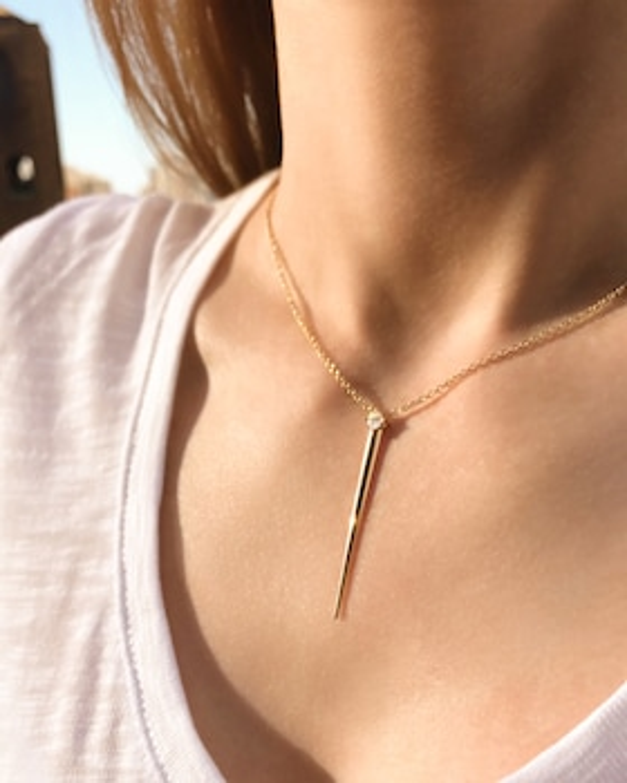 Aria Dagger Necklace