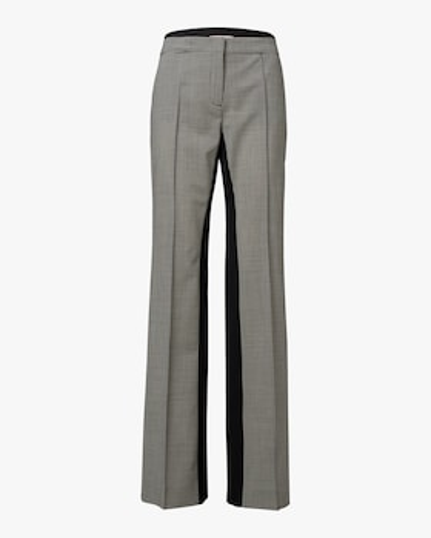 Minimal Vichy Straight Leg Pants