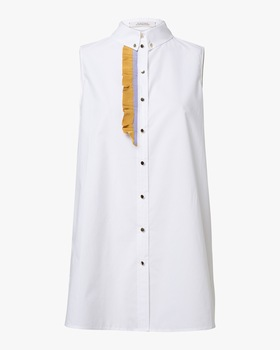 Poplin Power Blouse