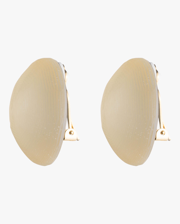 Medium Dome Clip On Earrings Alexis Bittar