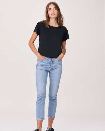 Essential Cotton Shaden Crew Neck Shirt
