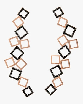 Jacqueline Square Earrings