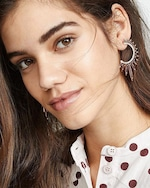 Nickho Rey Statement Sunburst Earrings 1