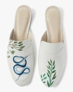 Alepel Hand Painted Temptation Mule 0
