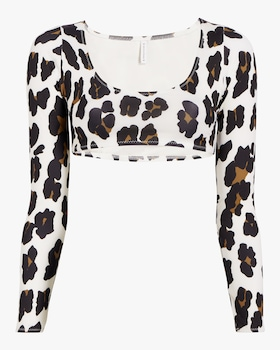 The Colette Leopard Top