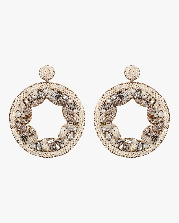 Onna Beaded Seashell Earrings