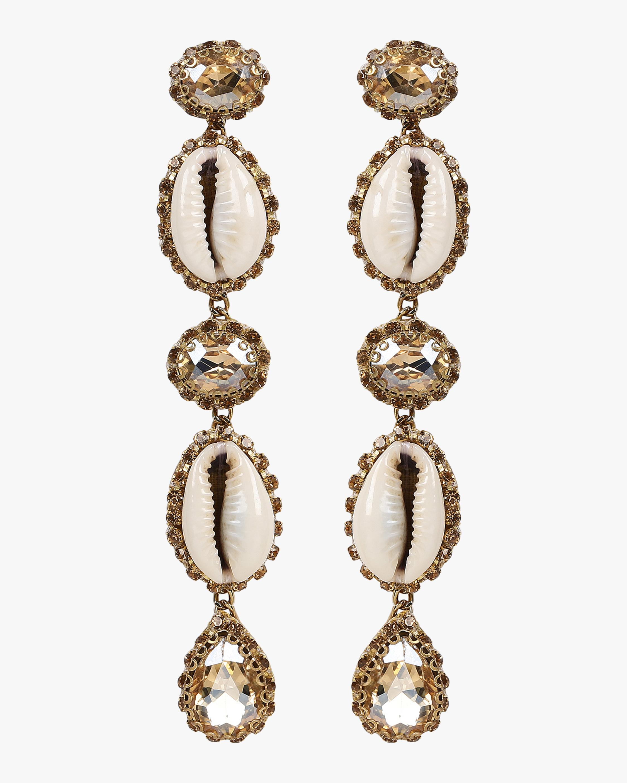 Kaia Seashell Drop Earrings
