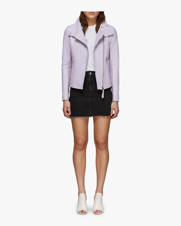 Sandy Leather Jacket