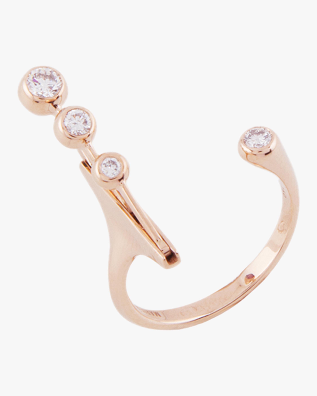 Dancing Diamond Open Ring