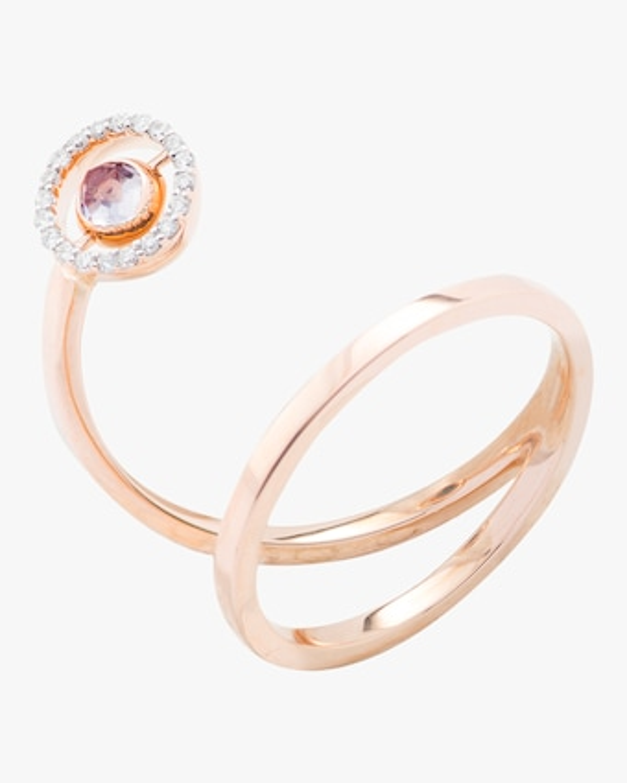 Swiveling Spiral Ring