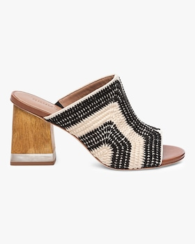 Noelle Embroidered Crochet Mule