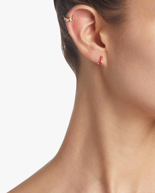 Gold Jumbo Huggie Earrings