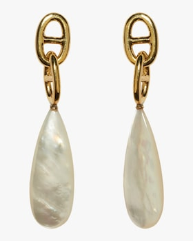 Grotto Drop Pearl Earrings