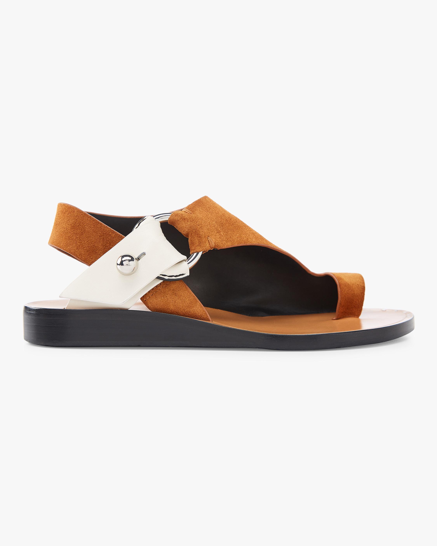 Arc Flat Sandal