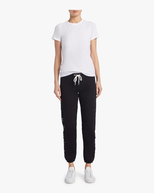 Printed Outline Star Vintage Sweatpants