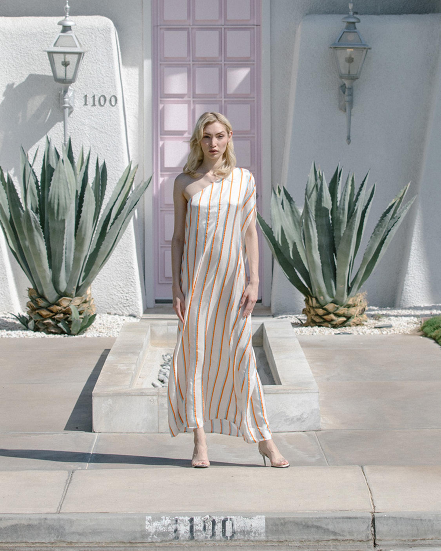 Olivia Cold Shoulder Midi Dress