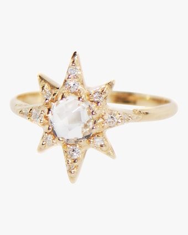 Anzie Aztec Starburst Ring 1