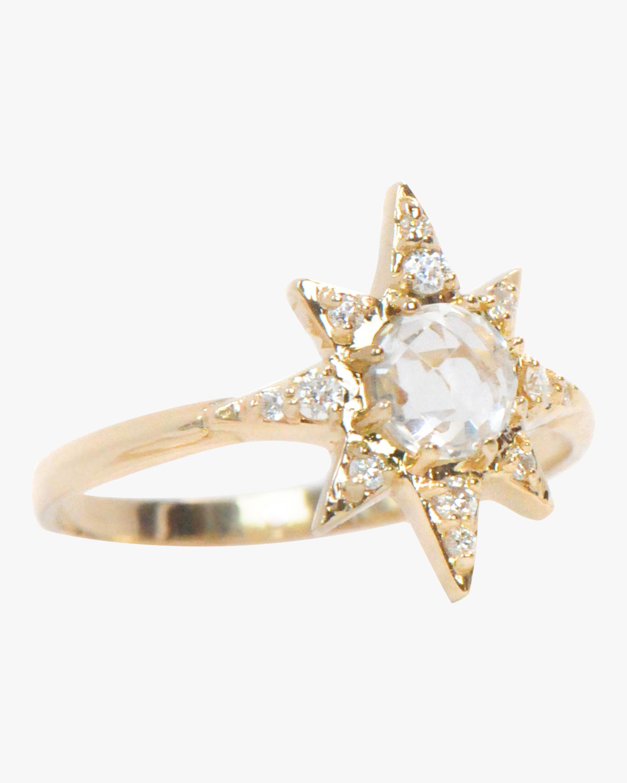 Anzie Aztec Starburst Ring 2