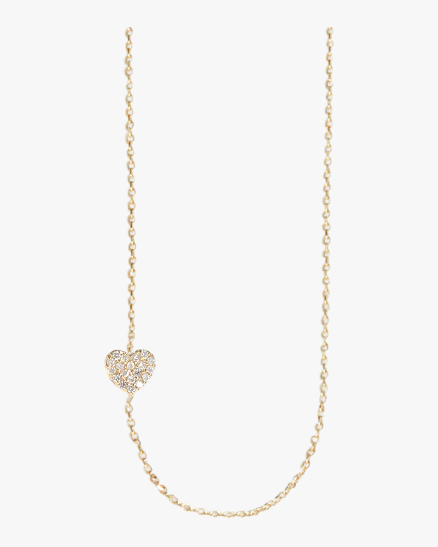 Anzie Pavé Heart Necklace 2
