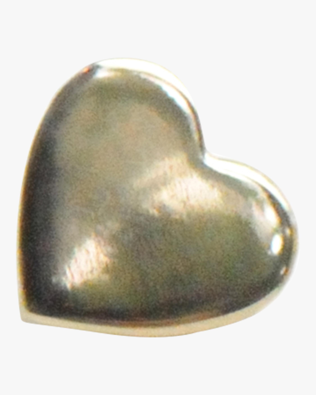 Single Typewriter Heart Stud Earring