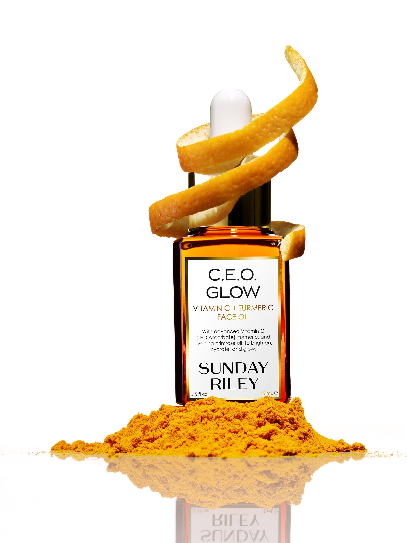 Sunday Riley C.E.O Glow Vitamin C + Turmeric Face Oil 15ml 3