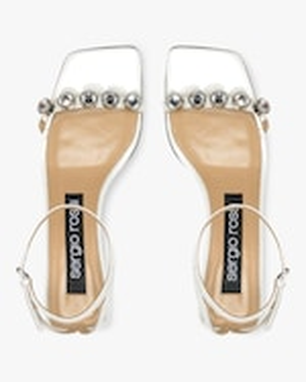 Sergio Rossi Mid Heel Sandal 4