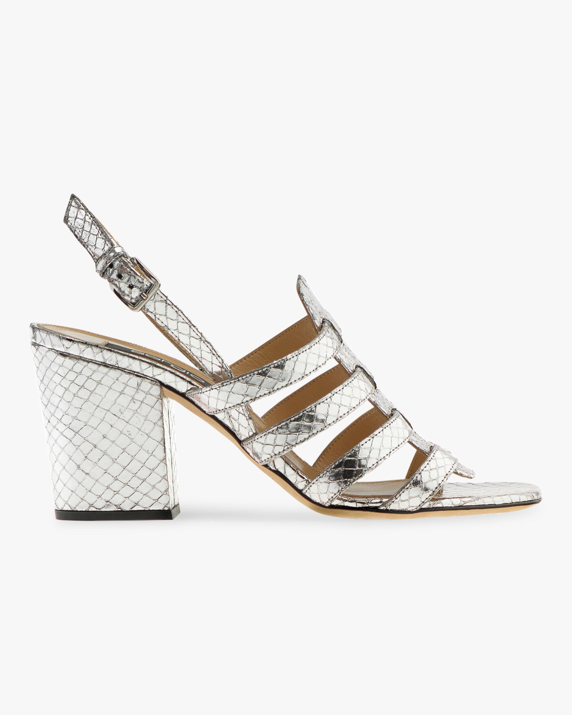 Demetra Midi-Heel Sandal
