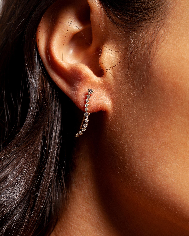 Diamond Swell Ear Climbers