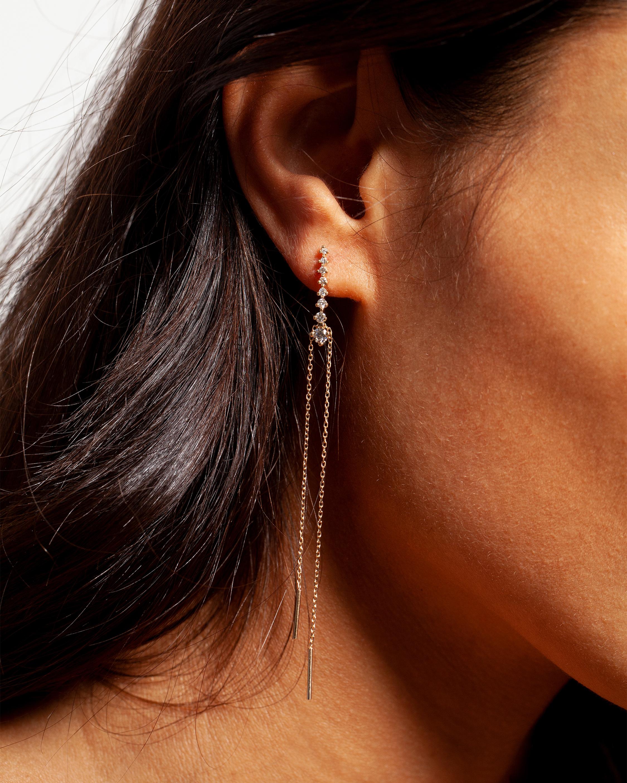 Sophie Ratner Cascade Earrings 1
