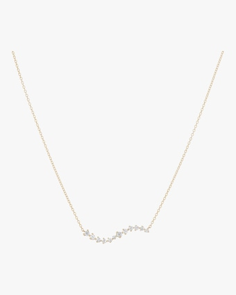 Sophie Ratner Diamond Swell Necklace 1