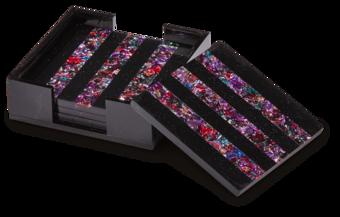 Square Striped Coasters