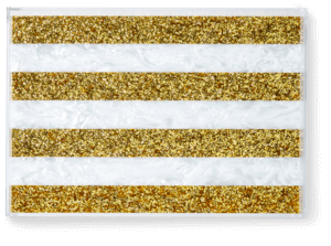 Striped Tray image two