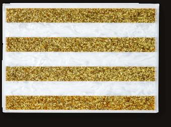 Striped Tray