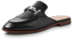 Double T Flat Mule image two