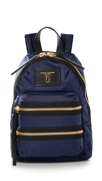 Nylon Biker Mini Backpack