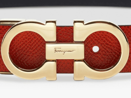 Salvatore Ferragamo Double Gancio Belt 1