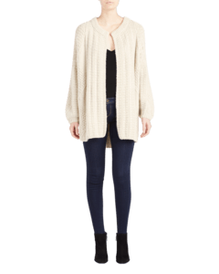 Swanilda Cashmere Cardigan Long image two