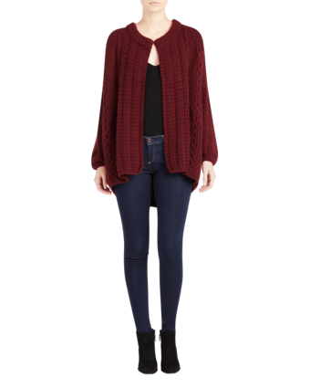Swanilda Cashmere Cardigan Medium