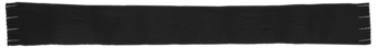 Cashmere Embellished Ribbed Scarf