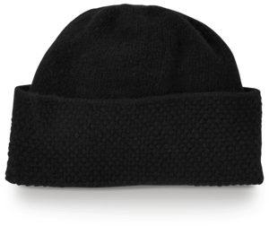 Cashmere Popcorn Knit Hat image two