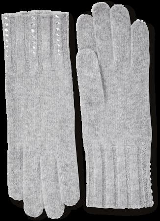 Cashmere Embellished Gloves