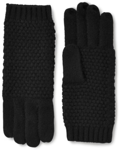 Cashmere Popcorn Knit Gloves image two
